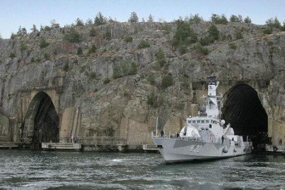 """Штаб ВМС Швеции перенесли на подземную базу из-за """"российской угрозы"""""""