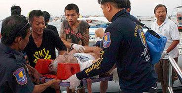 МИД РФ:  В катастрофе на тайском пароме нет погибших россиян