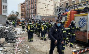 Масштаб катастрофы после взрыва в Мадриде выявлен на аэрофотосъёмке