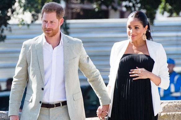 Меган Маркл родила сына принцу Гарри