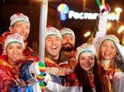 Олимпийский огонь разжигает стремление к здоровому образу жизни