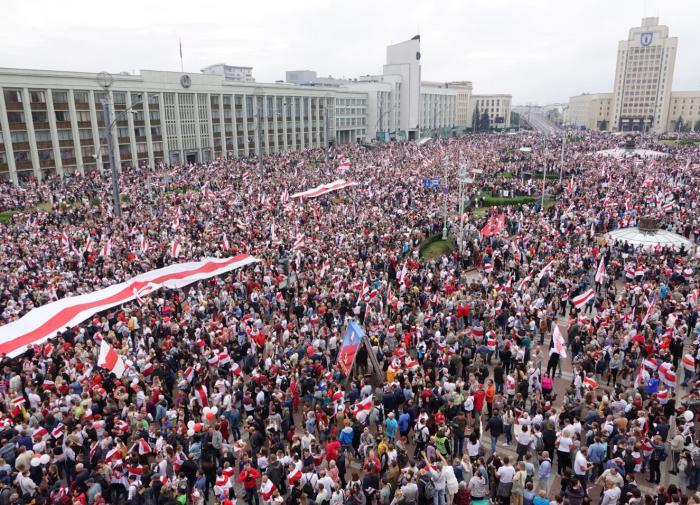 В Минске подсчитали участников акций протеста, прошедших в выходные