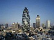 """В Лондоне состоялся забег на небоскреб """"Огурец"""""""