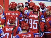 Российские хоккеисты обыграли хозяев чемпионата мира