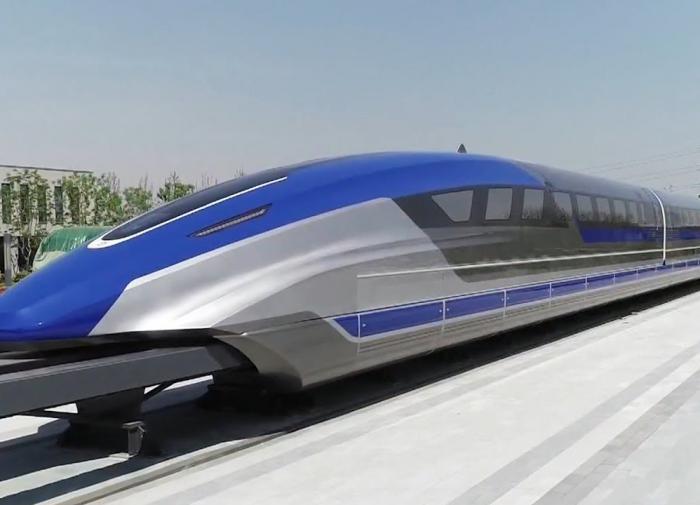 В Китае начались испытания поезда на магнитной подушке