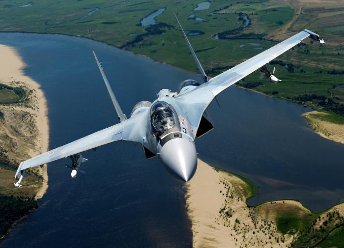 Американцы признали красоту российского истребителя Су-35