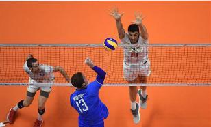 Российские волейболисты обыграли Иран на старте Кубка мира