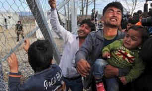 Сирийский мигранты атаковали греческую границу
