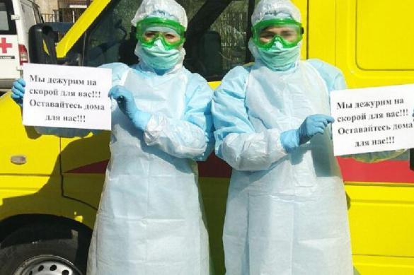 Власть в Волгограде самоизолировалась от проблем врачей