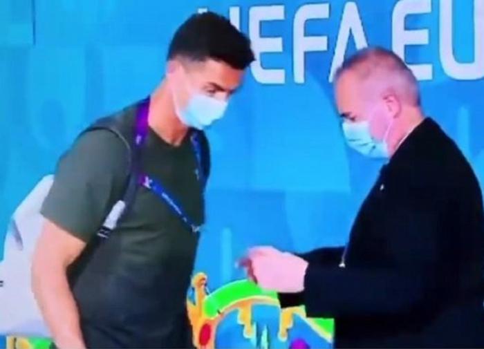 Ответственный охранник стадиона в Будапеште не пустил Роналду без пропуска