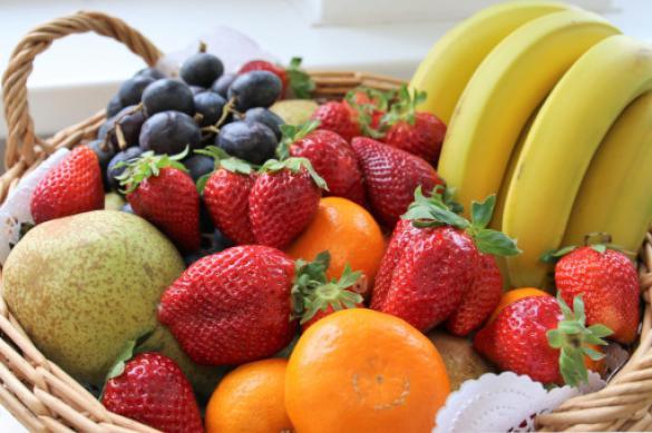 Россиянам посоветовали перейти на овощи и фрукты