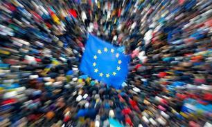 Половина Украины продолжает рваться в ЕС