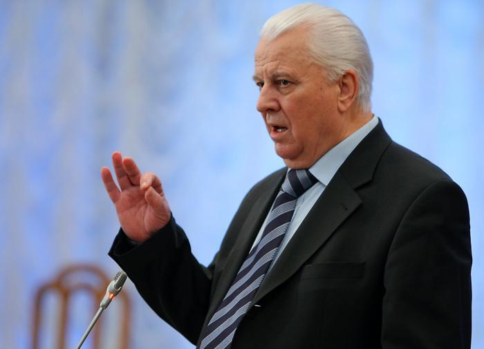 Кравчук недоволен работой представителей России по Донбассу