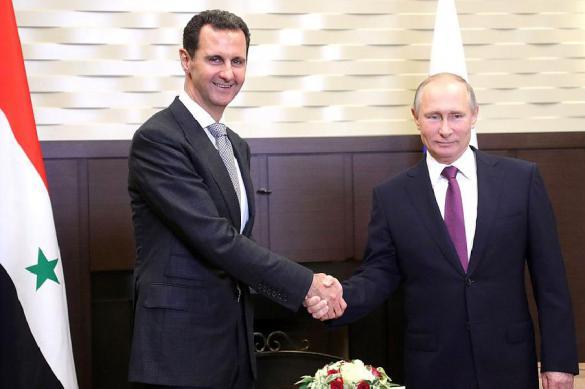 Путин посетил Сирию и встретился с Асадом