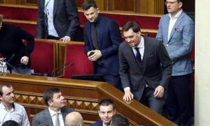 """""""Ганьба!"""" - скандировали депутаты Рады после выступления Гончарука"""