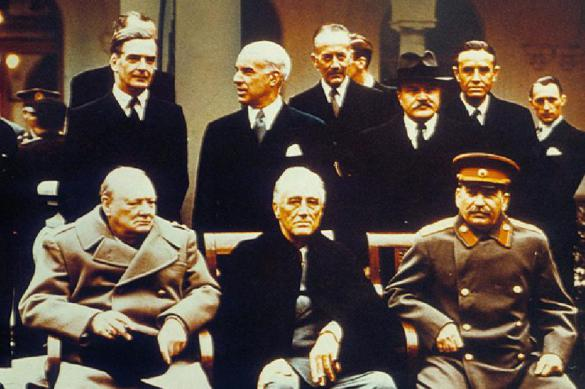 Минобороны обнародовало материалы к юбилею Ялтинской конференции
