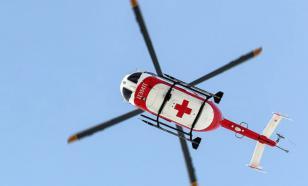 Вертолёт санавиации экстренно приземлился на гараж в Ижевске