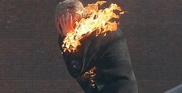 Под Тамбовом мужчина упал в костер и сгорел заживо