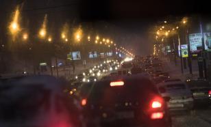 Москва встала в предновогодних пробках
