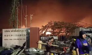В Бангкоке взрыв уничтожил химзавод и разрушил еще 10 предприятий