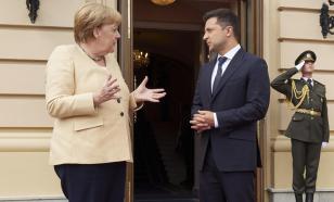 Орден не помог: Меркель так ничего и не пообещала Зеленскому