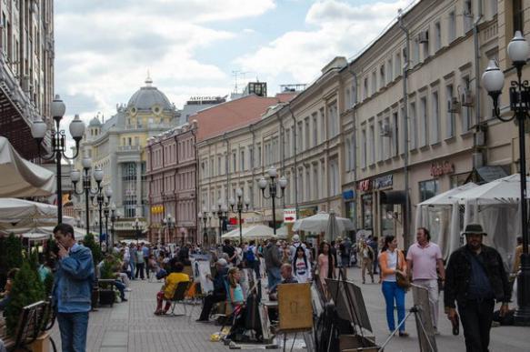 Почти все торговые площади в центре Москвы раскуплены