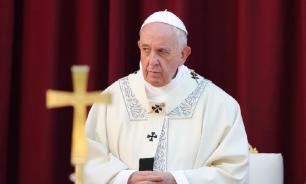 """Папа Римский помолился за успех саммита """"нормандской четверки"""""""