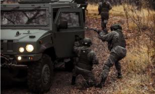 ЗВО: разведчики устроили засаду на колонну техники условного противника