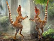 """Ученым удалось """"раскрасить"""" динозавров"""