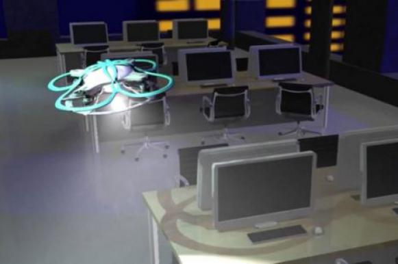 Домой и с песнями: роботы будут прогонять трудоголиков с работы. Видео