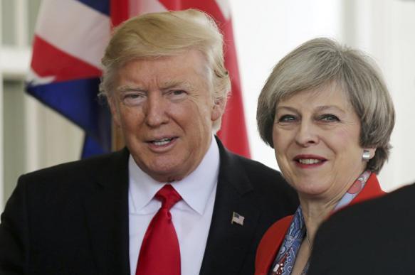 """Трамп анонсировал """"феноменальную"""" торговую сделку с Великобританией после Brexit"""