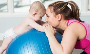 Фитбол - спорт для детей, грудничков и не только