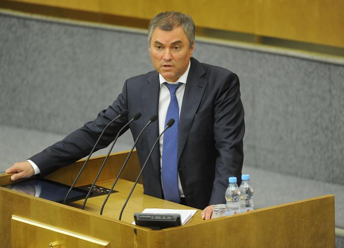 Володин дал россиянам совет касательно отпуска