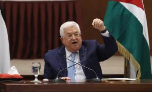 Палестина расторгает соглашение о безопасности с Израилем и США