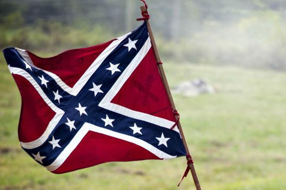 Американской морской пехоте запретили использовать флаг Конфедерации