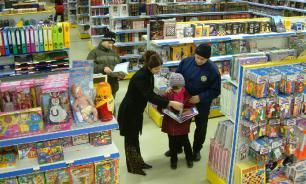 Объём розничной торговли в России упал на 35%