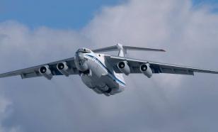 Ил-76 с российскими военными на борту вылетел из Италии