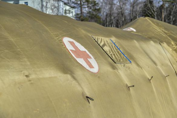 Военные развернули полевой госпиталь в дагестанском Ботлихе