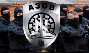 """Карательный батальон """"Азов"""" хочет вмешаться в войну Киева с """"Правым сектором"""""""