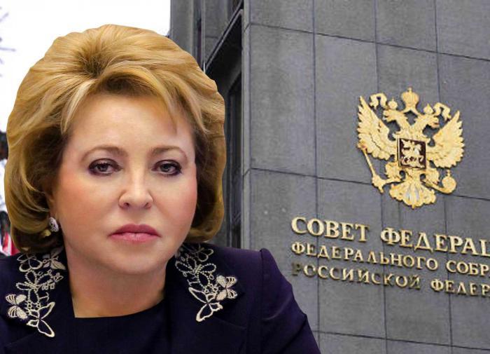 Матвиенко разъяснила политику властей РФ в отношении доллара