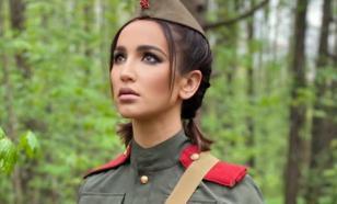 Ольгу Бузову затравили за фотосессию в военной форме