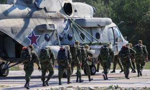 """Запад-2017"": Уничтожение ПВО НАТО вертолетами. Видео"