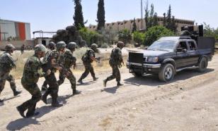 Армия Сирии начала наступление к западу от города Дейр-эз-Зор