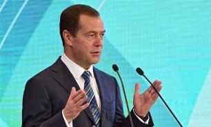 Названа причина эвакуации Медведева с форума в Сколково