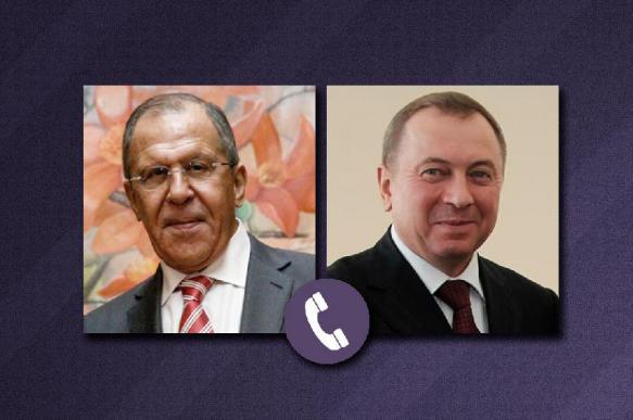 Лавров провёл разговор с главой МИД Белоруссии