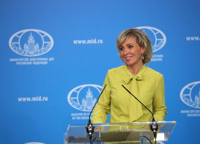 Захарова назвала оторванным от реальности заявление Зеленского о войне с РФ