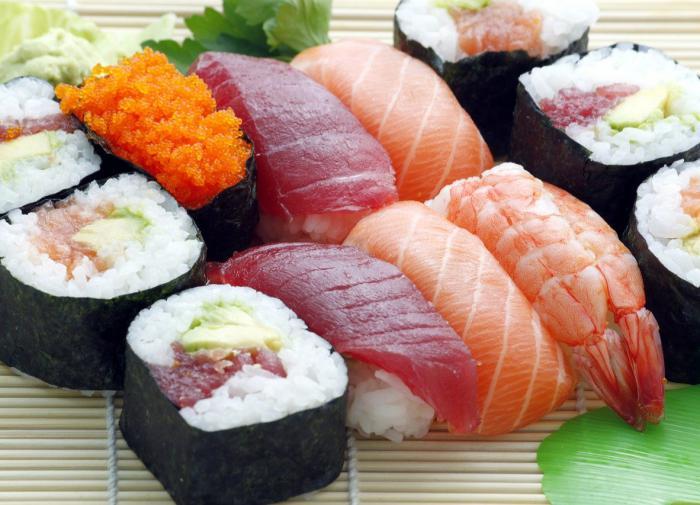 Черви проели мозг любителя суши
