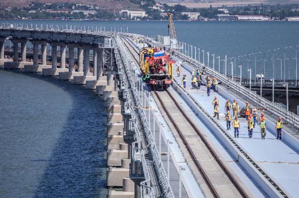В Евросоюзе осудили запуск поездов в российский Крым