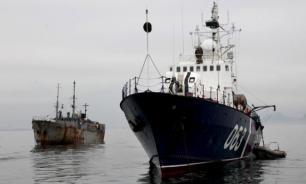 Обе северокорейские шхуны браконьеров задержаны в Японском море