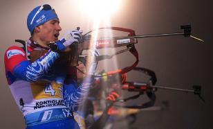 Россия взяла бронзу в мужской эстафете на ЧМ по биатлону